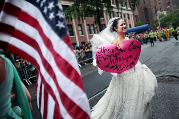 Image: Gay Pride Parade Held In New York City