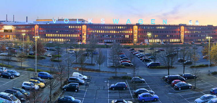 IMAGE: Volkswagen production facility in Kassel