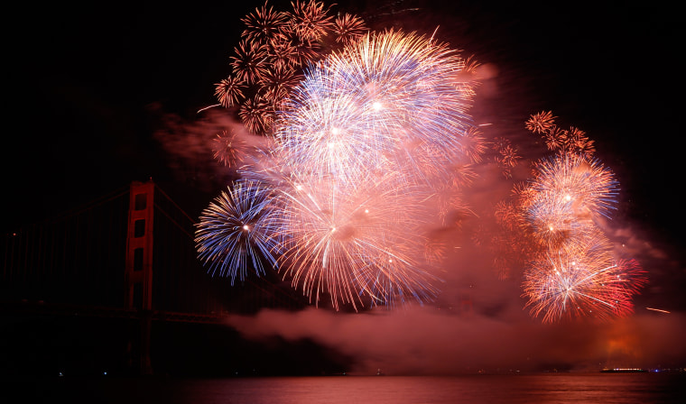 Drought-Stricken California Handles July 4 Fireworks With Care