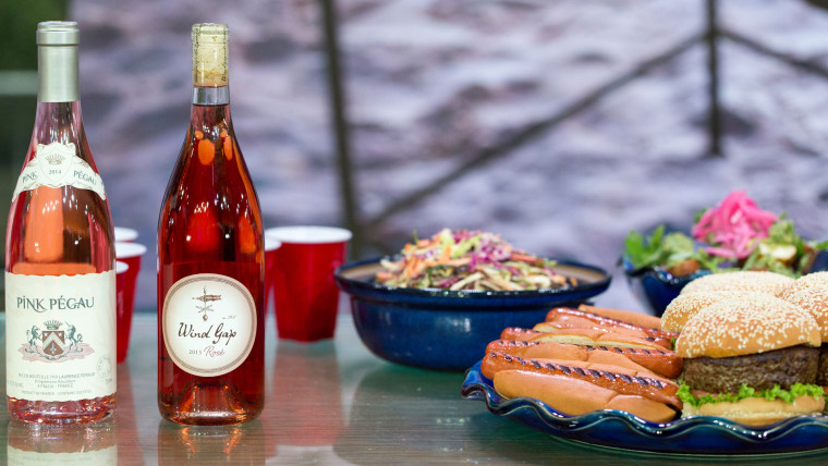 Andy Chabot pairs wine with cheese and popcorn, fried chicken, burgers and hot dogs, and grilled summer corn