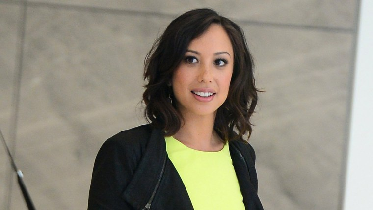 Cheryl Burke In New York City - June 24, 2015