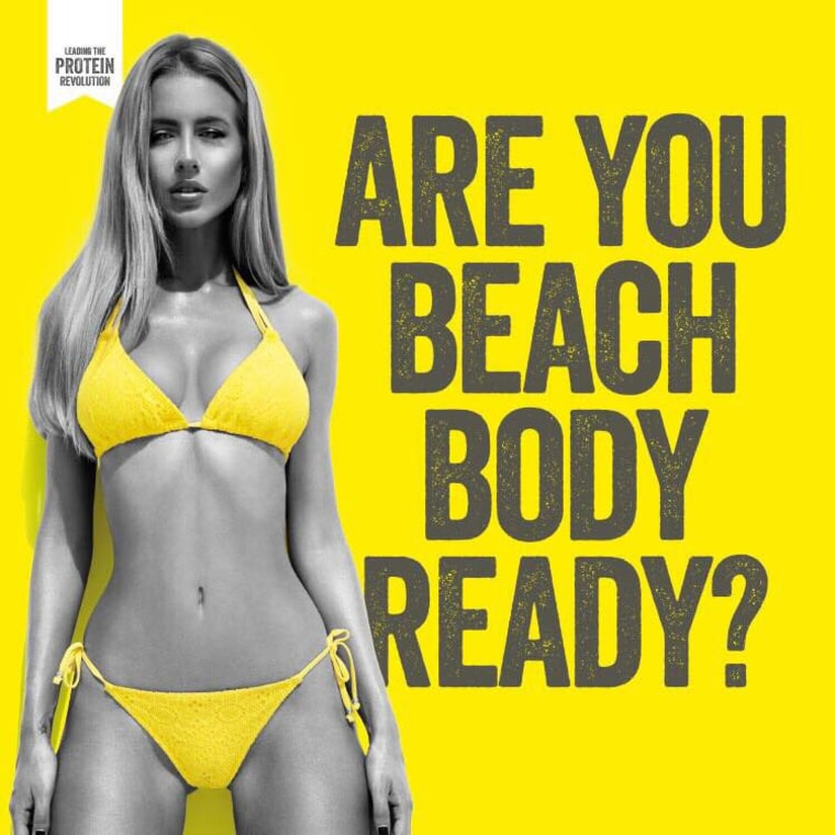Protein World's 2015 ads caused an outcry after popping up in London and New York in 2015.