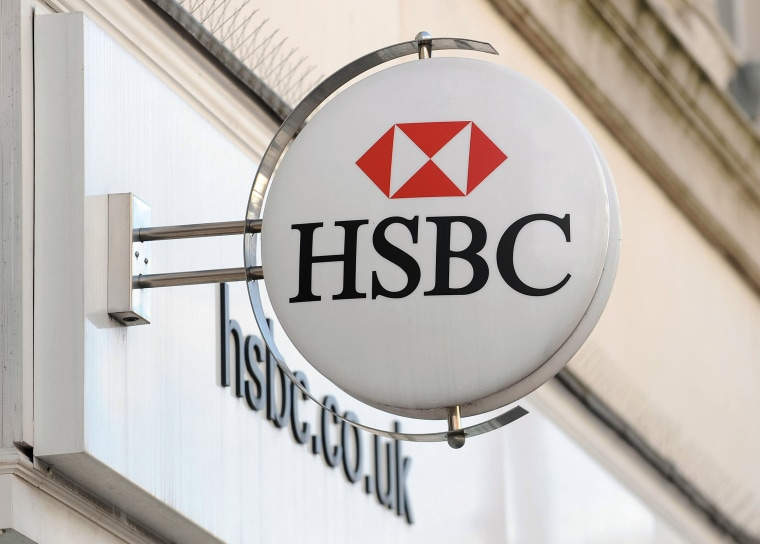 Image: A HSBC Bank branch