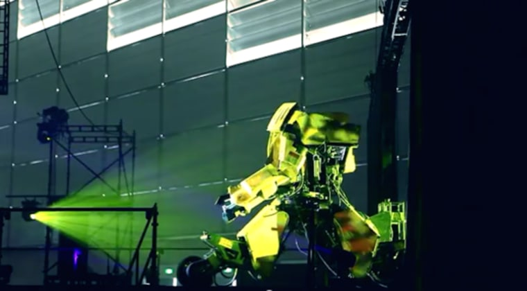 Image: Kuratas, giant robot developed in Japan