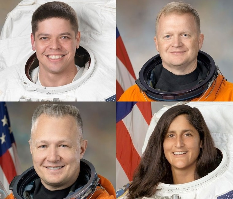 NASA Picks Four Astronauts to Train for Commercial U.S. Spaceflights