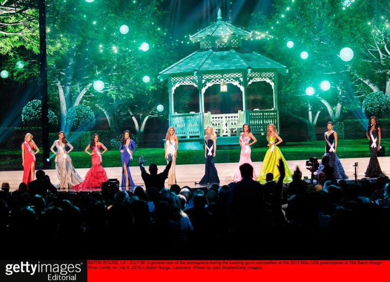 Image: Miss USA Preliminaries