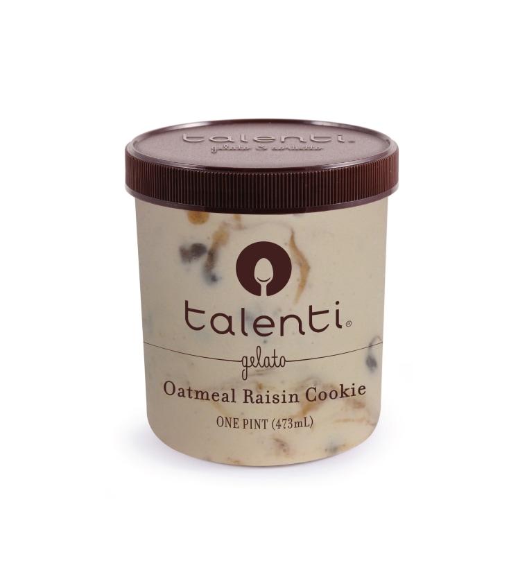 Oatmeal raisin cookie ice cream