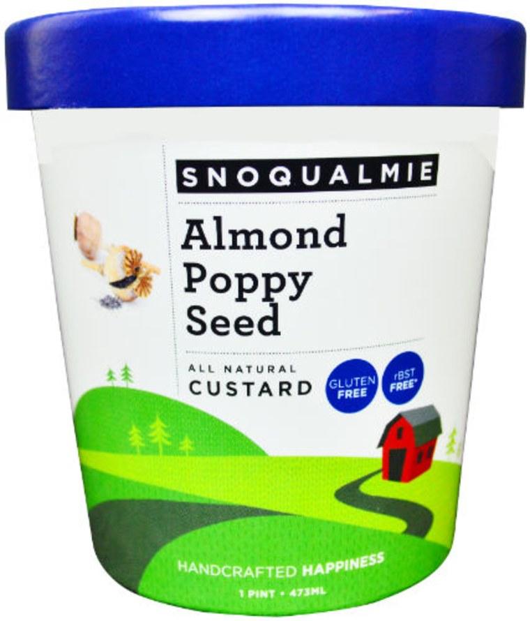Almond Poppy Ice Cream