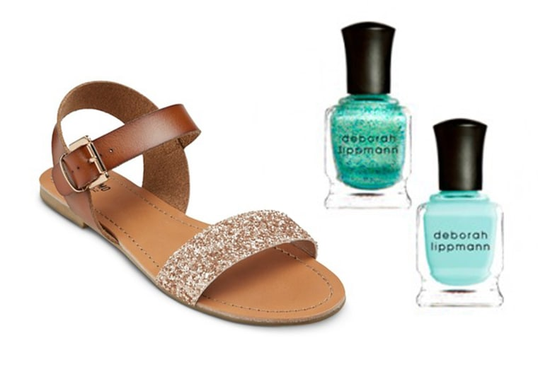 957e70bb7 Put your best foot forward! 7 pedicure and sandal combos