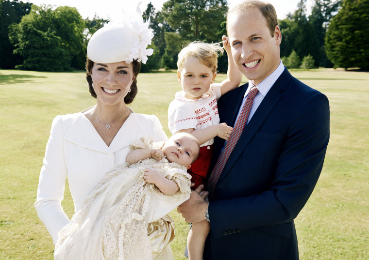 Image: Official Photographs Of Princess Charlotte's Christening