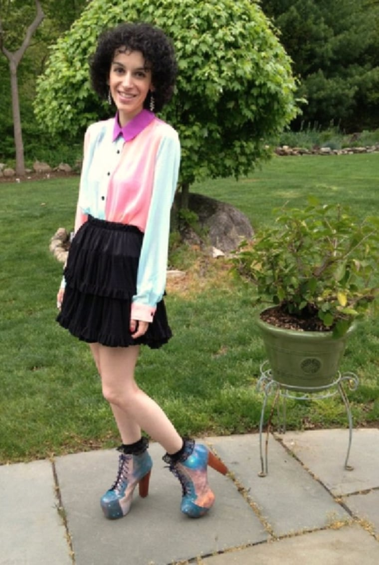 Kathryn Laudadio, who committed suicide in 2013 after battling anorexia and bipolar disorder.