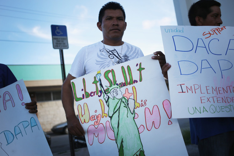Image: Vigil Held In South Florida In Favor Of Administrative Relief For Immigrants