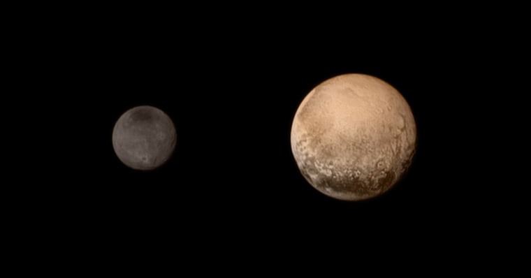 Image: Charon and Pluto