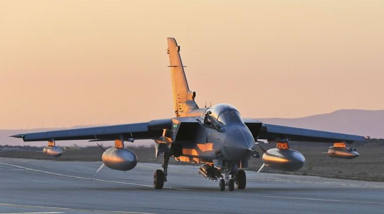 Image: A RAF Tornado GR4