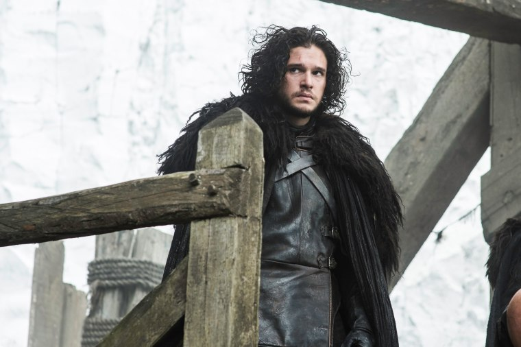 "Kit Harington as Jon Snow in ""Game of Thrones."""