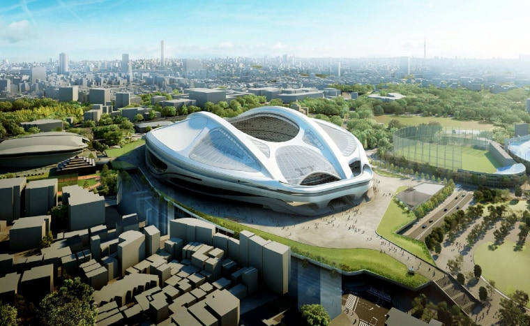 Image: An artist's impression of the stadium