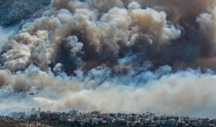 Image: GREECE-FIRE