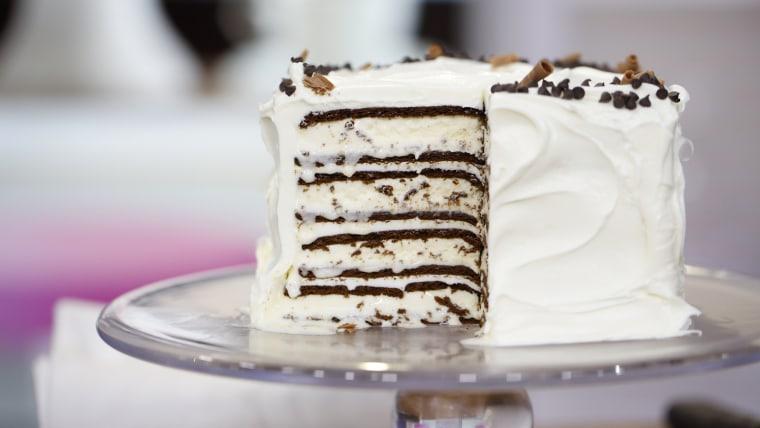Easy homemade ice cream cake
