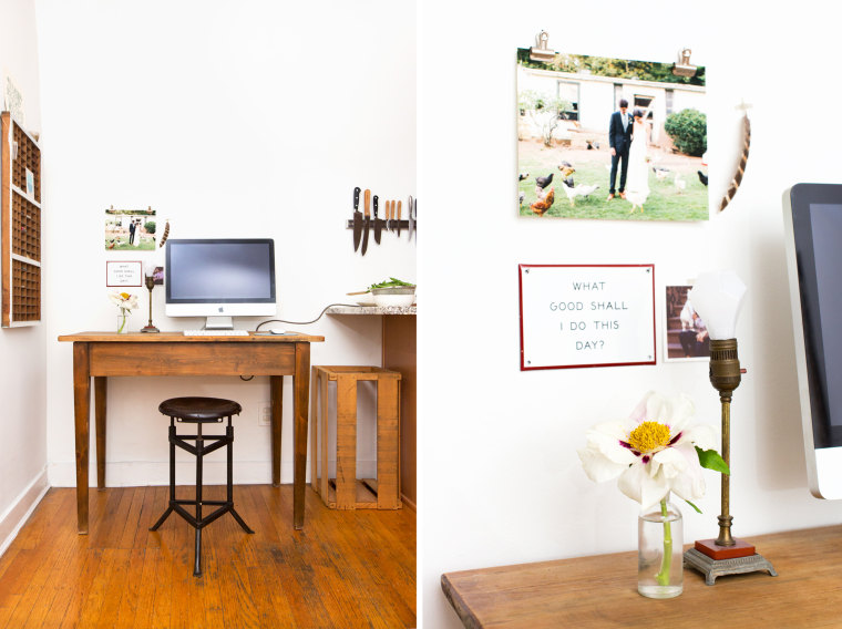"""Reading My Tea Leaves"" blogger Erin Boyle home tour"