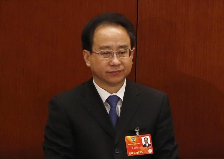 Image: Ling Jihua in 2013