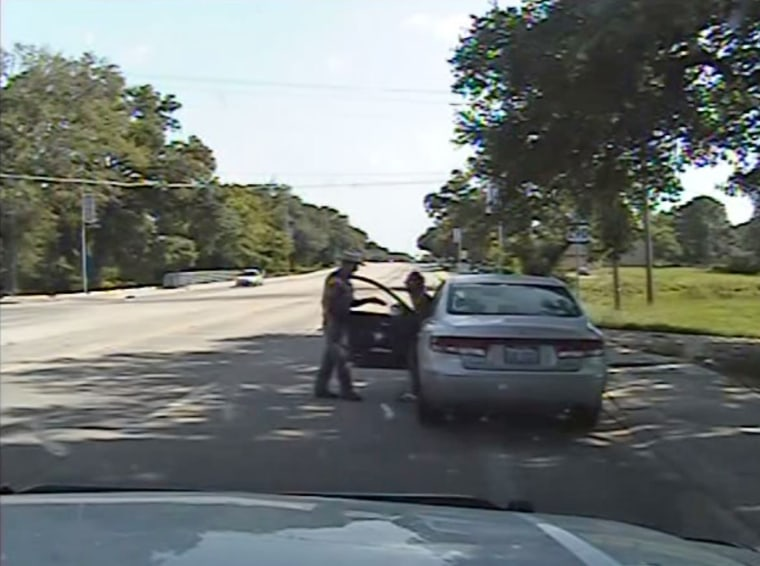 Dashcam video released Tuesday shows the traffic stop that ended in Sandra Bland's arrest. She died in an apparent suicide in jail three days later.