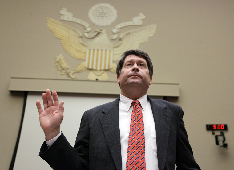 Image: Peanut Corp Of America CEO Testifies Before House On Salmonella Outbreak