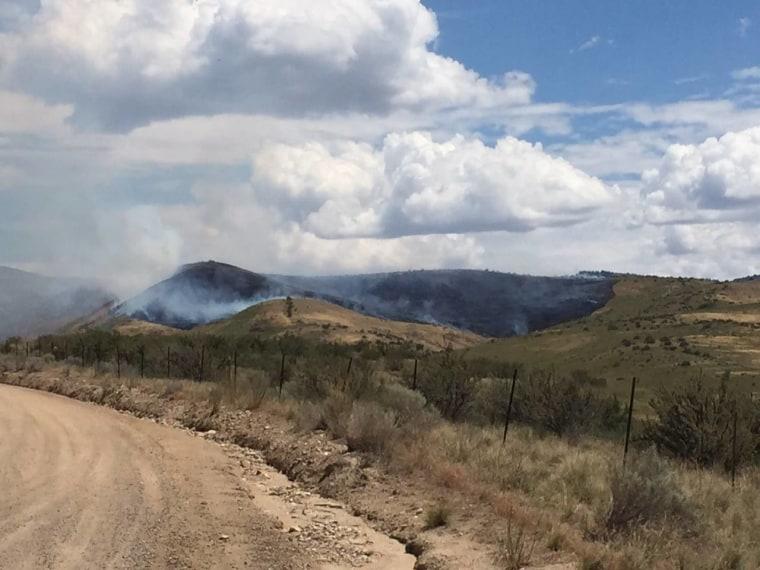 IMAGE: Hull fire near Boise, Idaho