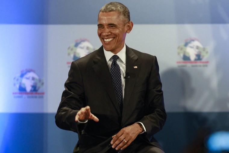 Image: US President Barack Obama in Kenya