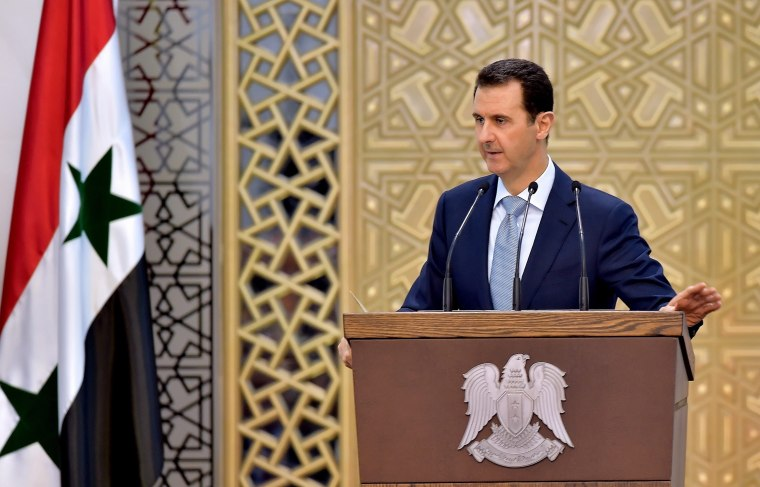 Image: Syrian president defends territorial losses, confident of victory