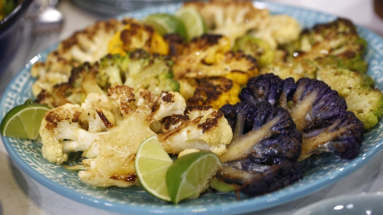 TODAY Show: Three healthy, easy recipes for cauliflower from Food Network's Aarti Sequeira.