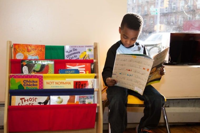 Barbershop Books has placed books inside some New York barbershops to encourage young boys to read