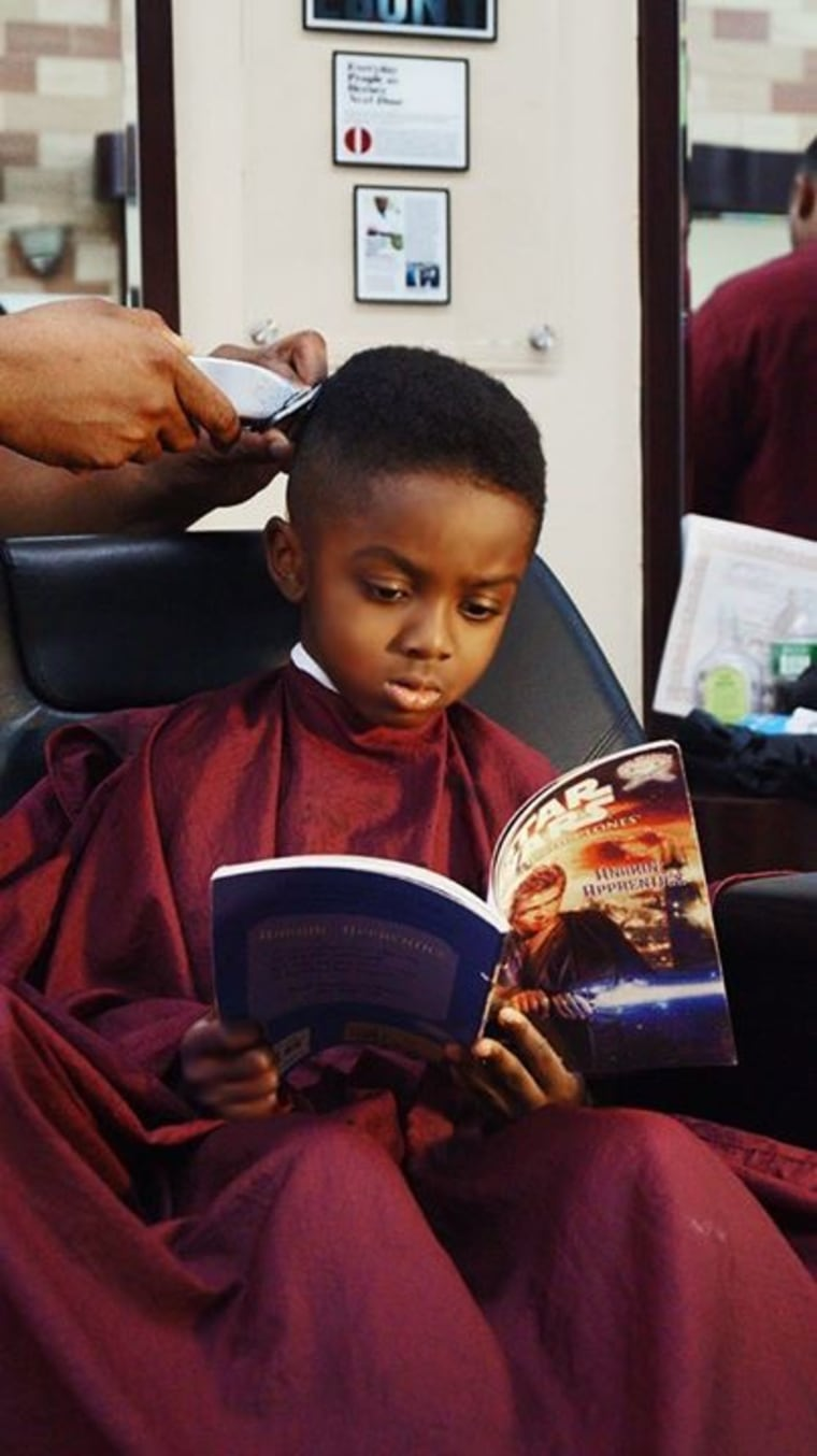 Barbershop Books is getting young black boys interested in reading