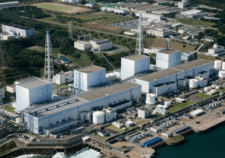 Image: Fukushima nuclear plant in northeastern Japan