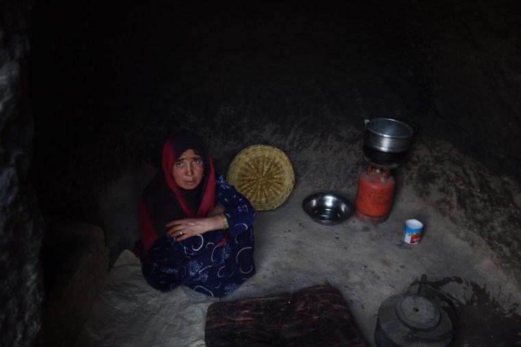 Image: AFGHANISTAN-UNREST-HERITAGE-BAMIYAN
