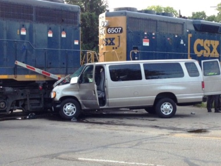 Bible School Van Rams Train in Ohio, One Dead Nine Injured