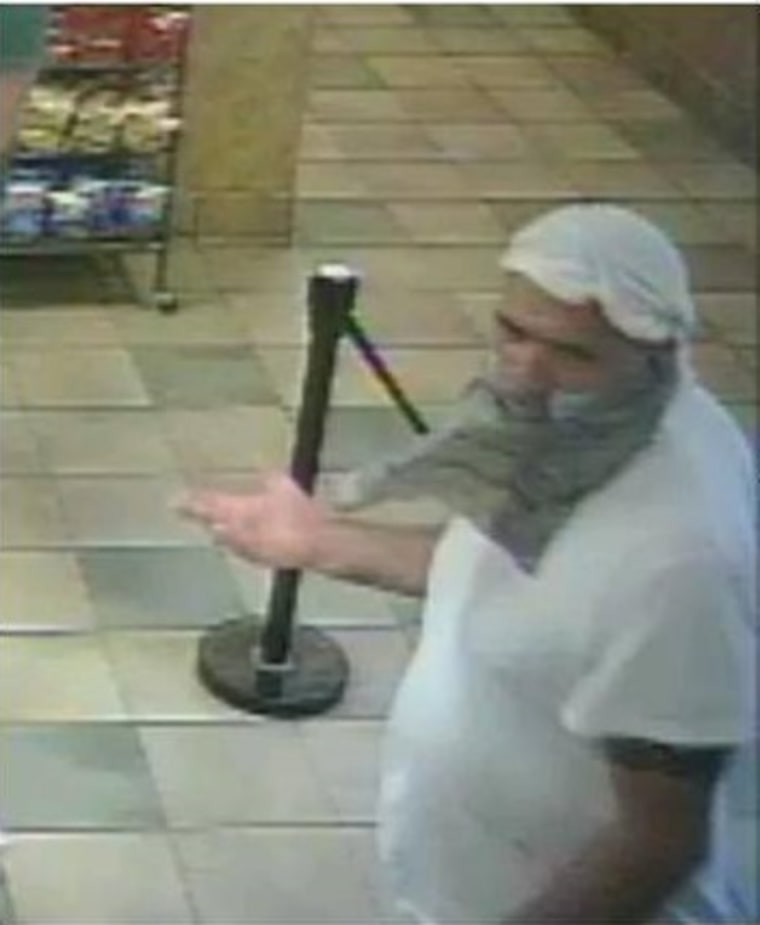 IMAGE: Coventry, Rhode Island, robbery suspect