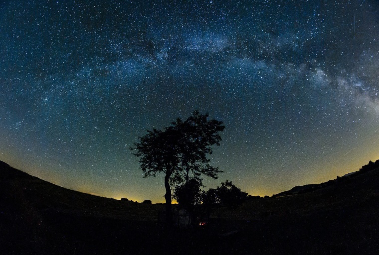 Image: Milky Way seen from Hungary