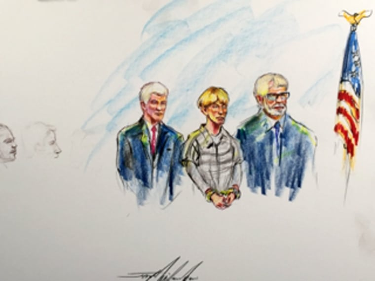 Image: Dylann Roof court sketch