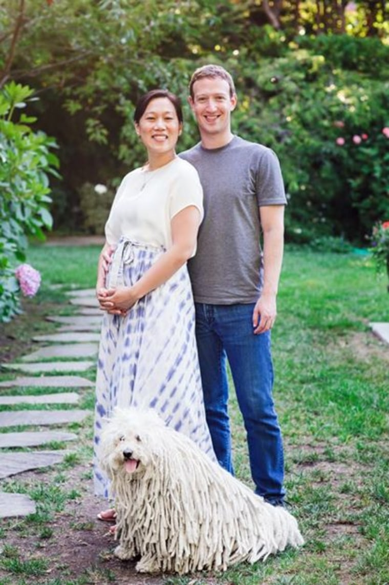 Facebook founder Mark Zuckerberg and his wife Priscilla Chan announced that are expecting their first child, a girl, in a post on the social network on Friday.