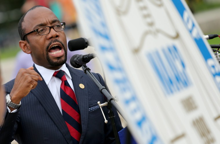 Image: NAACP President Cornell William Brooks Discusses August March From Selma To D.C.