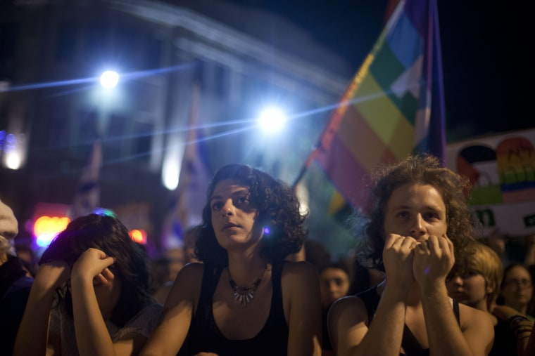 Thousands Rally Across Israel Following Gay Pride Stabbing Attack
