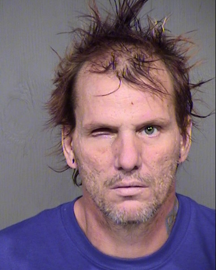 Kenneth Wakefield was released from the hospital and booked on one count of 1st Degree Murder and two counts of Animal Cruelty, reference the incident 1 week ago from North 13th Place. The MCSO booking number is T200136 and he is being held on a $2 million bond.