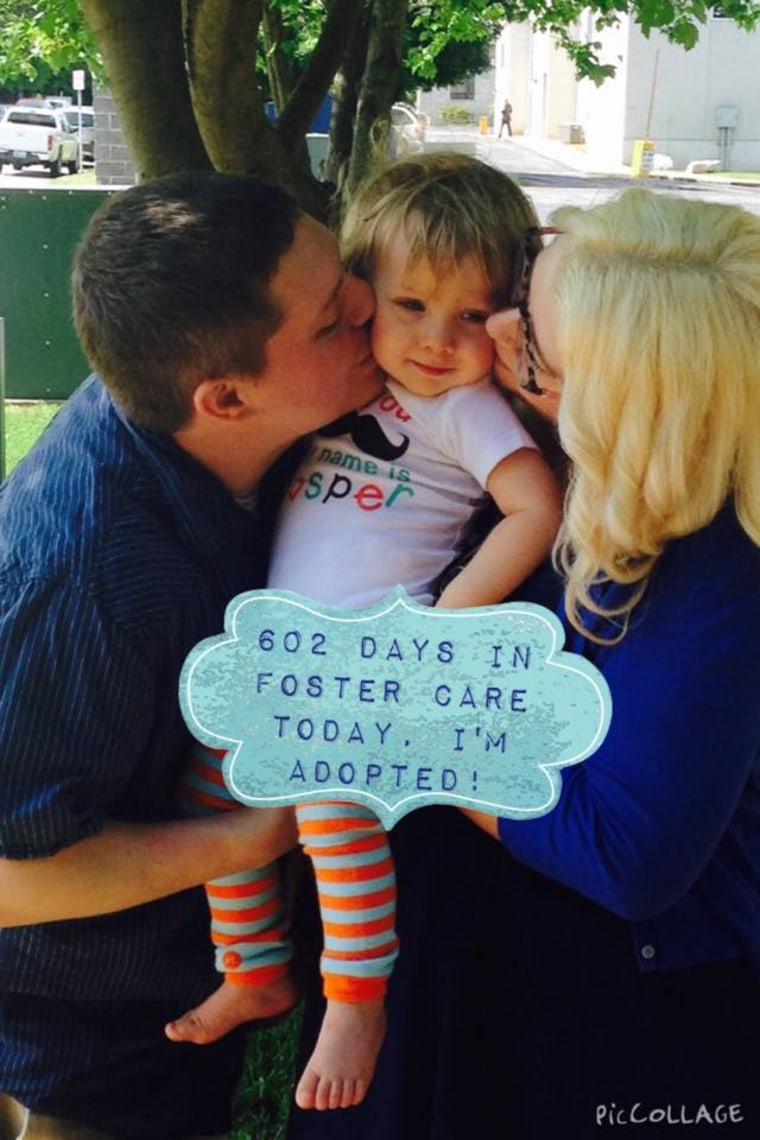 Jasper Wilmoth and his adoptive family