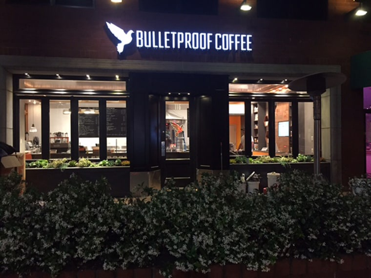 Bulletproof Coffee Shop, Santa Monica, California