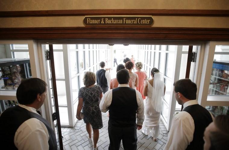 Weddings at funeral homes