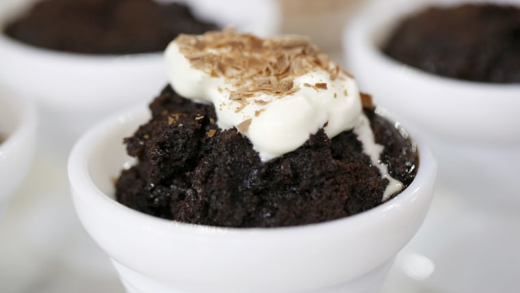 Triple chocolate brownies and cherry delight dump desserts