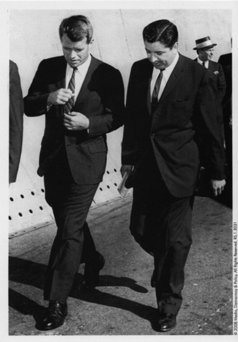 Image: Ruben Salazar and Robert F. Kennedy