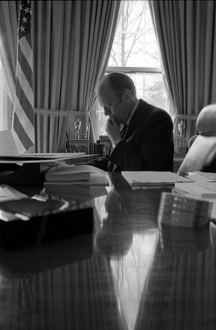 Image: Image: President Gerald Ford