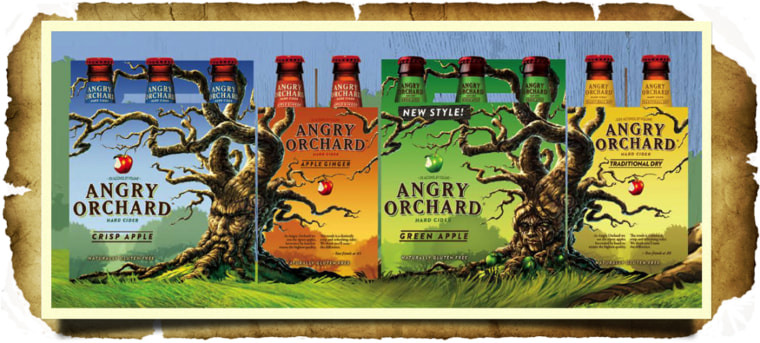 Image result for angry orchard hard cider