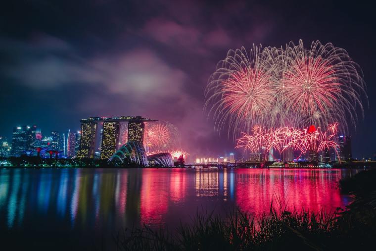Image: Singapore celebrates 50 years of independence